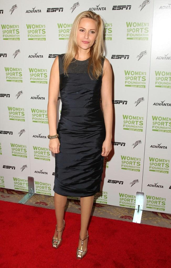 Aimee Mullins at the 29th Annual Salute to Women in Sports Awards.