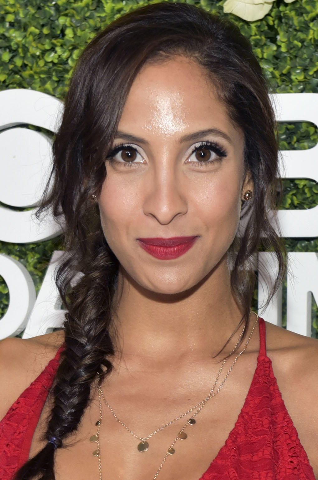 Christel Khalil at the CBS Daytime Emmy After Party in Pasadena, California.