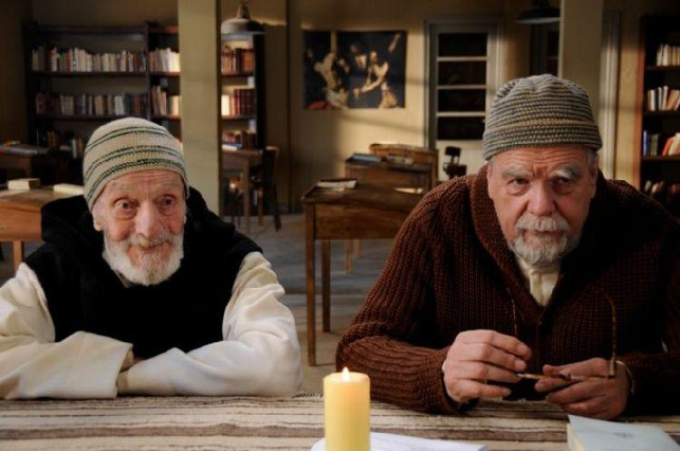 Jacques Herlin as Amedee and Michael Lonsdale as Luc in