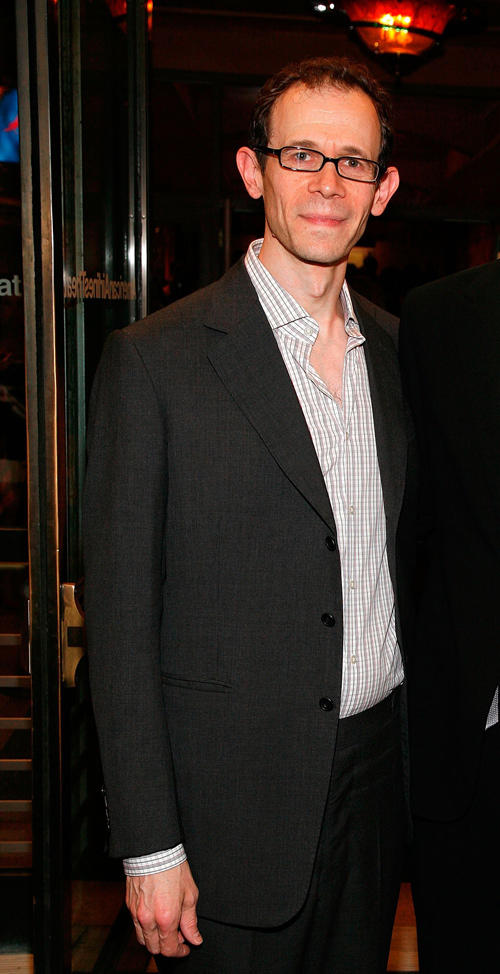 Adam Godley at the Broadway Opening Night of