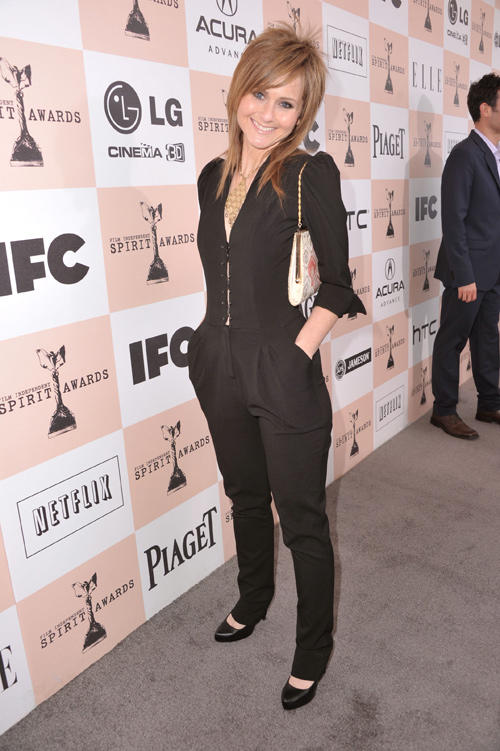 Heather Kafka at the 2011 Film Independent Spirit Awards.