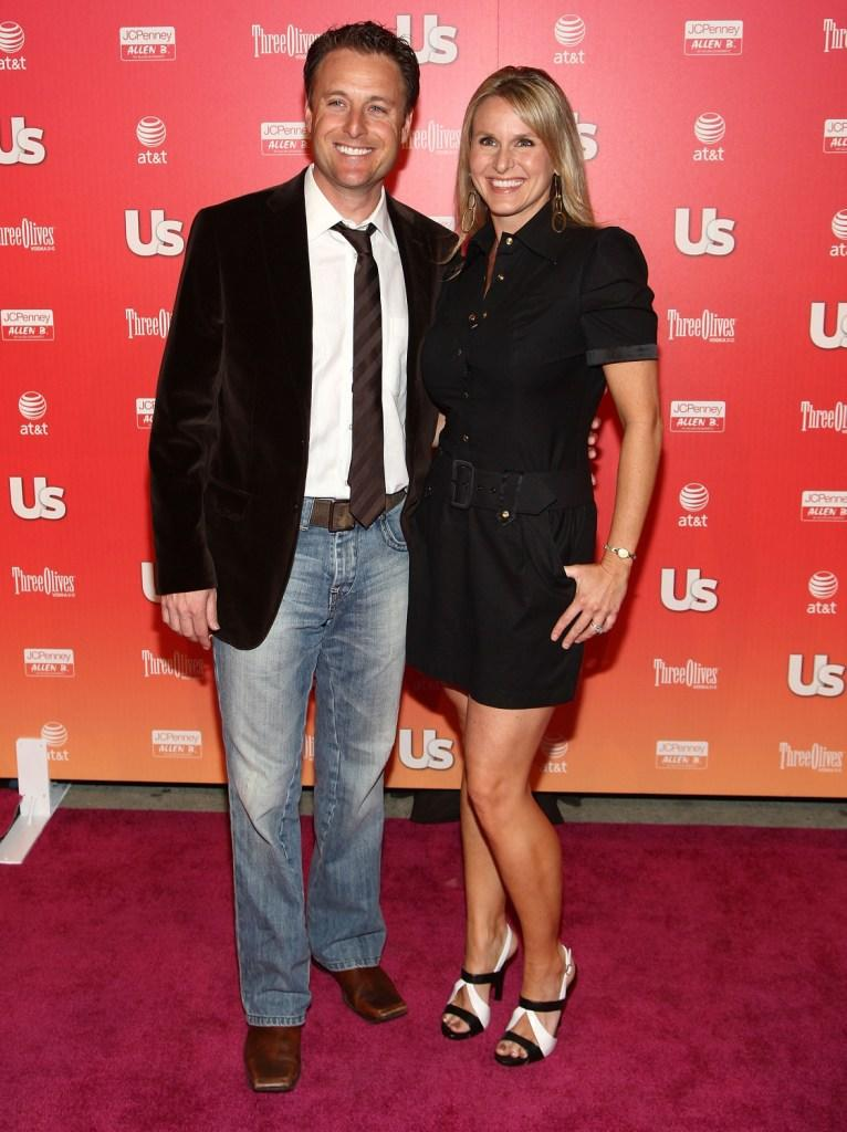 Chris Harrison and his wife at the Us Weekly Hot Hollywood Party.