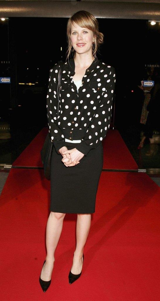 Alyssa McClelland at the 2006 IF Awards media launch.