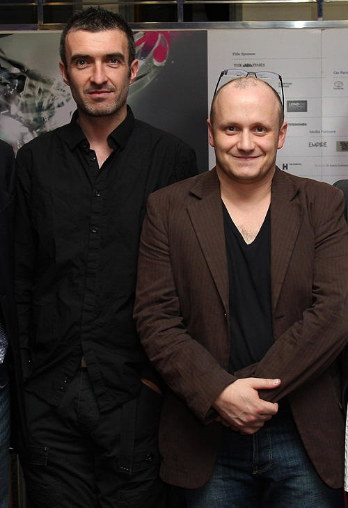 Mark O'Halloran and director Lenny Abrahamson at the premiere of