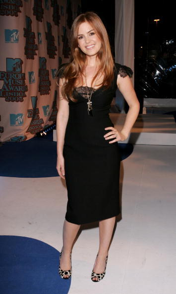 Isla Fisher at the MTV Europe Music Awards 2005.