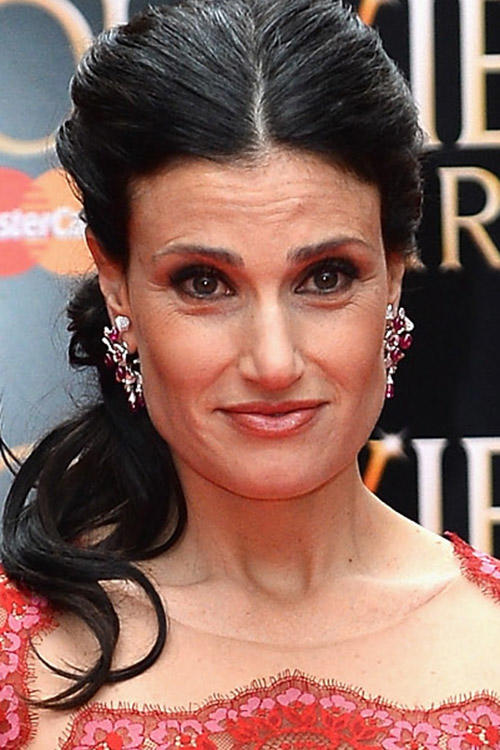 Idina Menzel at The Laurence Olivier Awards in London.