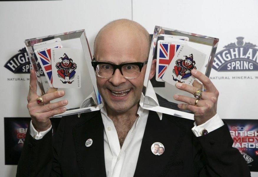 Harry Hill at the British Comedy Awards 2006.