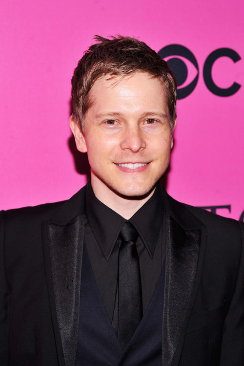 Matt Czuchry at the 2012 Victoria's Secret Fashion Show in New York.