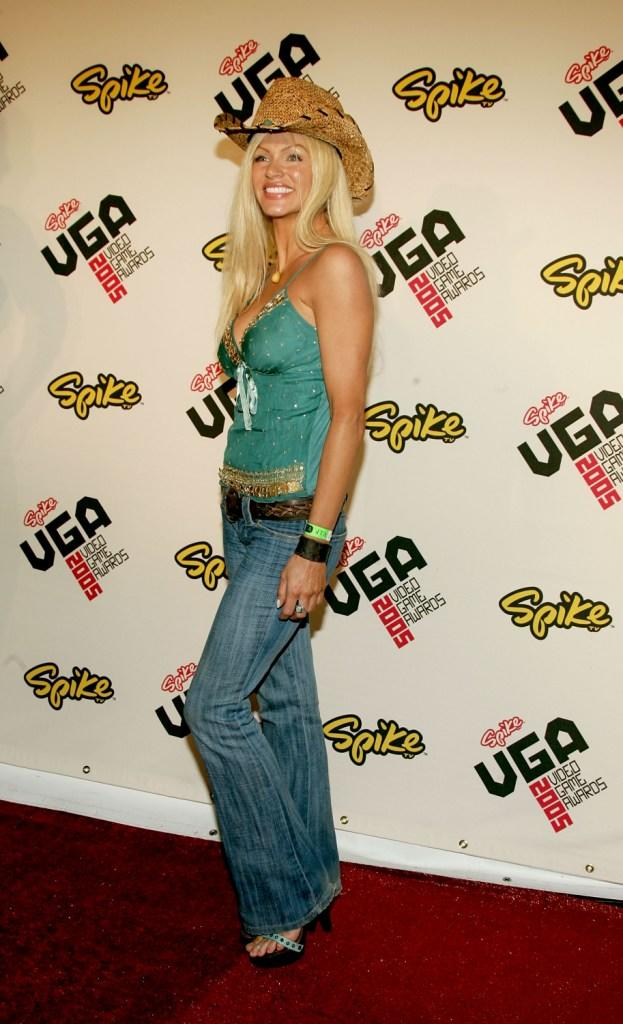 Nikki Ziering at the Spike TV