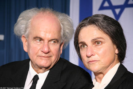 Ian Holm and Tovah Feldshuh in