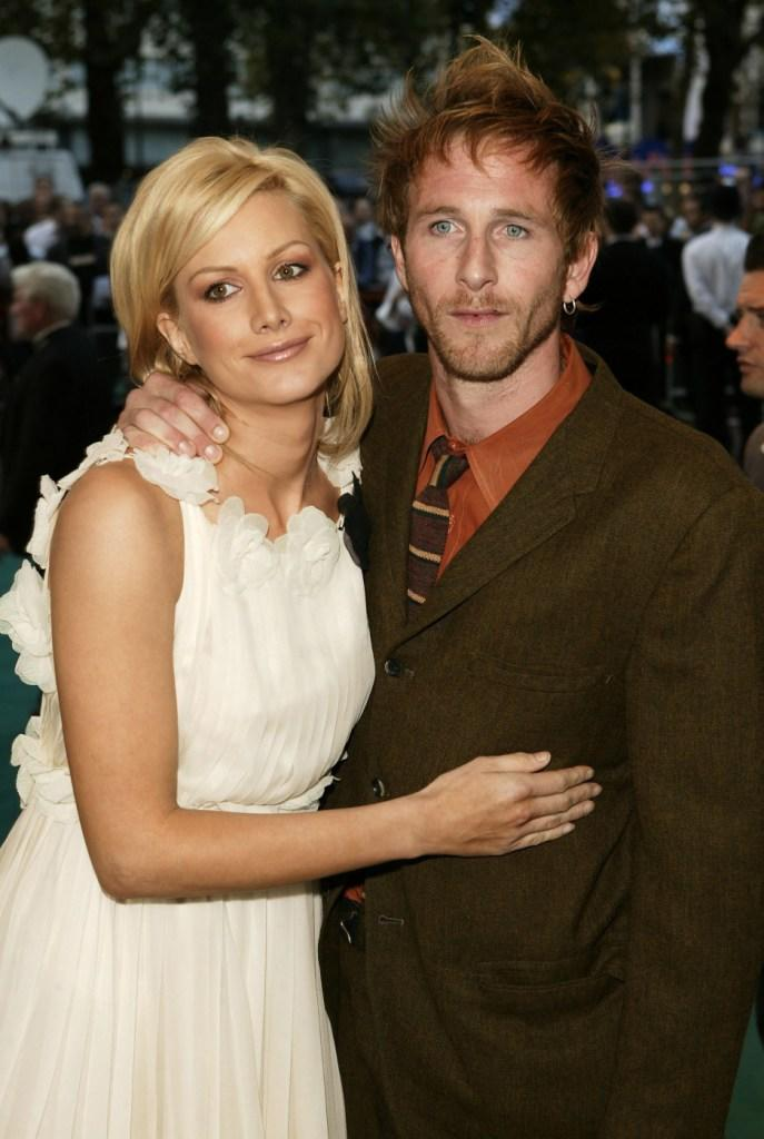 Alice Evans and Paul Kaye at the premiere of
