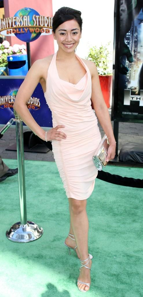 Aimee Garcia at the premiere of