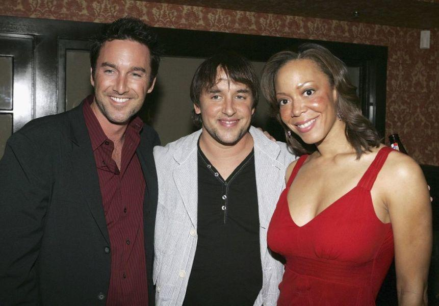 Dameon Clarke, director Richard Linklater and Angela Rawna at the premiere of