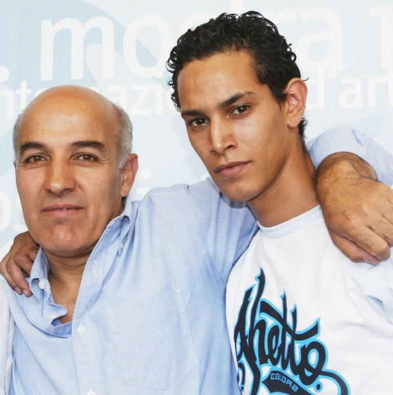 Director Abdelkrim Bahloul and Ouassini Embarek at the photocall of