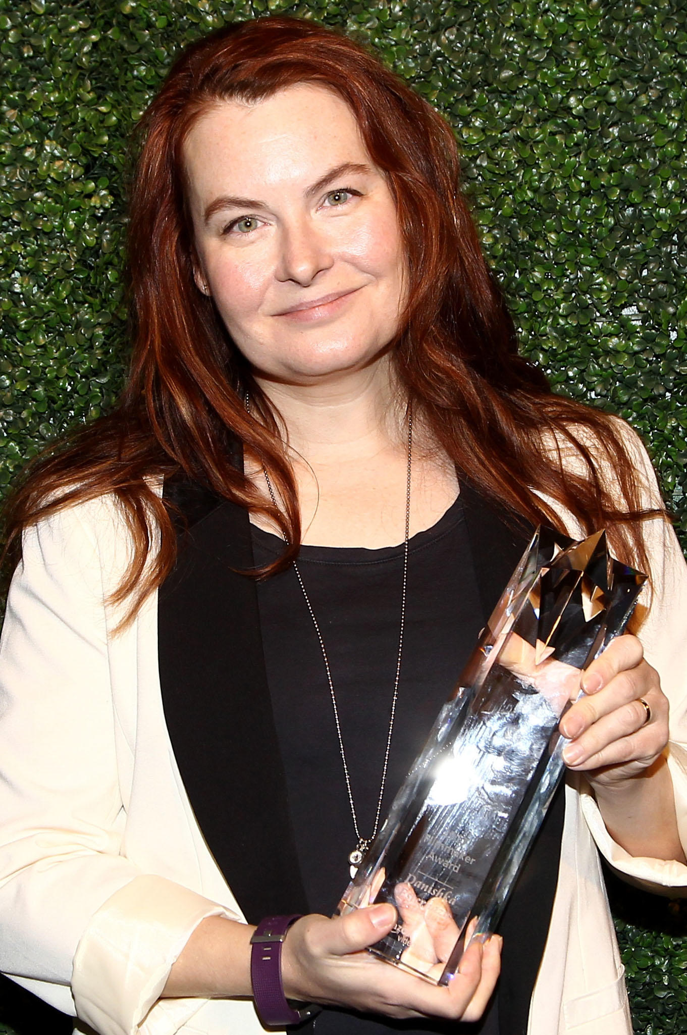 AVD Award recipient Danishka Esterhazy during the 2017 Sundance Film Festival.