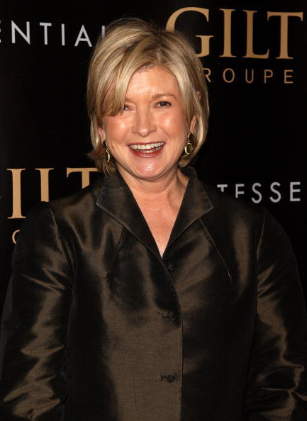 Martha Stewart at the after party of the New York premiere of
