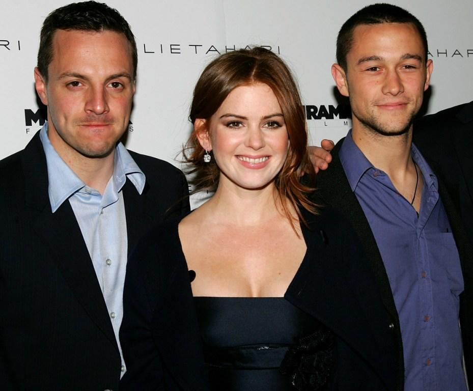 Sergio Di Zio, Isla Fisher and Joseph Gordon-Levitt at the screening of