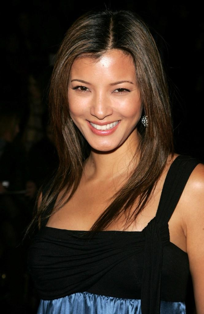 Kelly Hu at the BCBG Max Azria Fall 2007 fashion show during Mercedes-Benz Fashion Week.