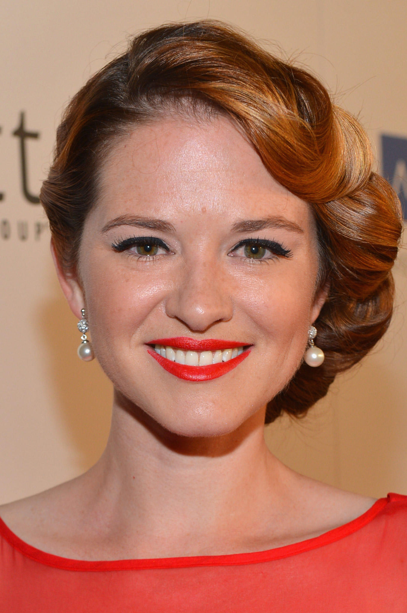 Sarah Drew at The Thirst Project's 3rd Annual Gala at The Beverly Hilton Hotel in Beverly Hills, CA.