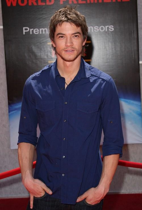 Craig Horner at the Los Angeles premiere of