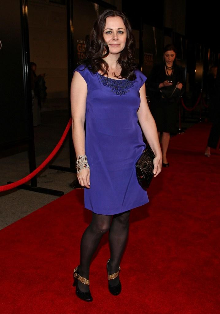 Geraldine Hughes at the world premiere of