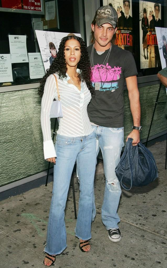 Heather Hunter and her boyfriend Brandon at the premiere of