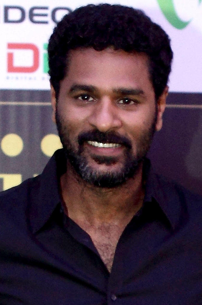 Prabhu Deva at the 2012 International India Film Academy Awards in Singapore.