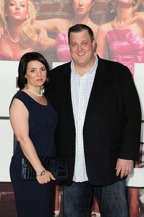 Billy Gardell and Guest at the California premiere of