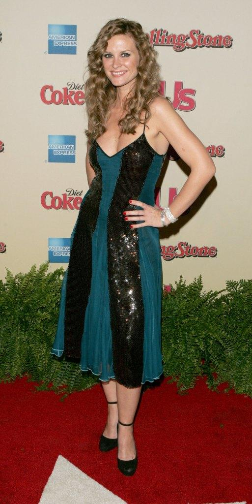 Bonnie Somerville at the Us Weekly and Rolling Stone Oscar party.