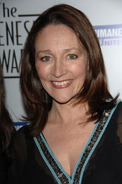 Olivia Hussey at the 21st Genesis Awards.