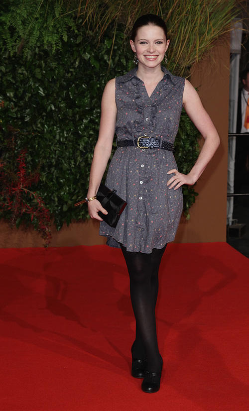 Jennifer Ulrich at the German premiere of