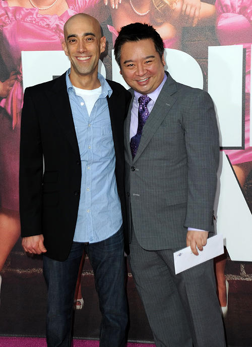 Mitch Silpa and Rex Lee at the California premiere of