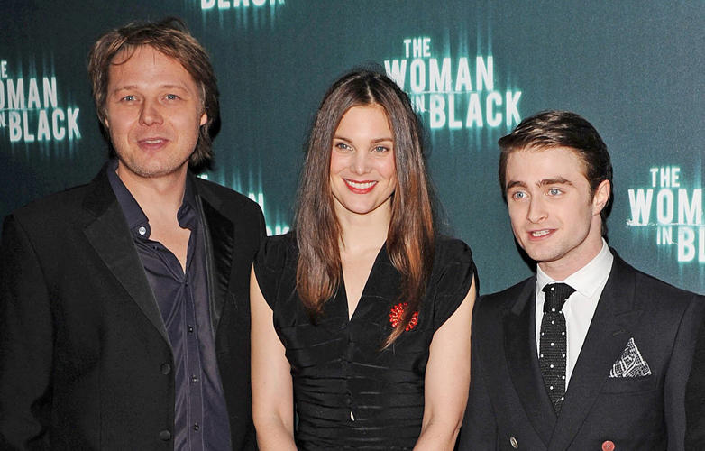 Shaun Dooley, Liz White and Daniel Radcliffe at the World premiere of