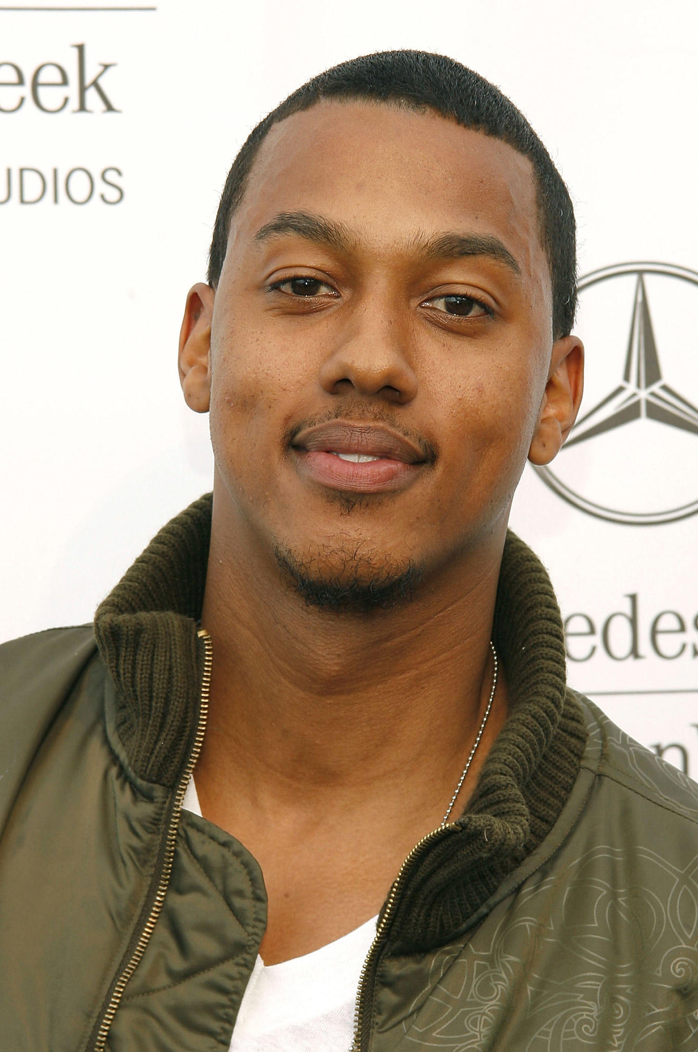 Wesley Jonathan at the Mercedes Benz Fashion Week at Smashbox Studios in Culver City, CA.