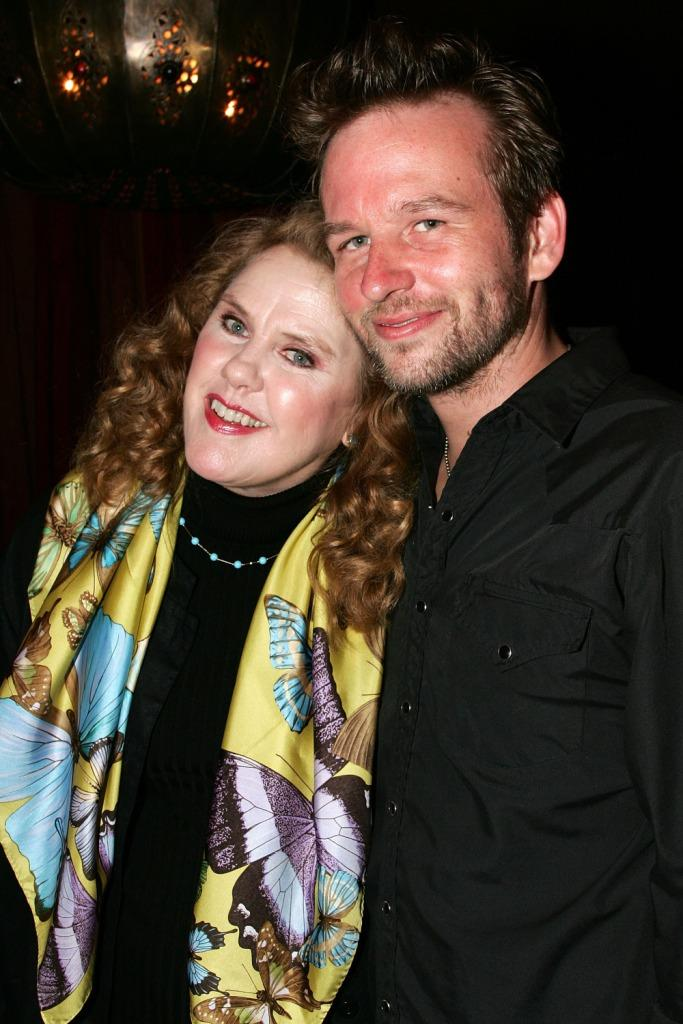 Celia Weston and Dallas Roberts at the screening of