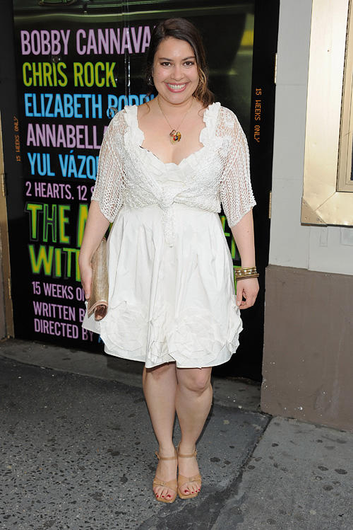 Vanessa Aspillaga at the Broadway Opening Night of