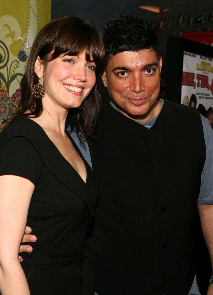 Bellamy Young and Michael DeLorenzo at the premiere of