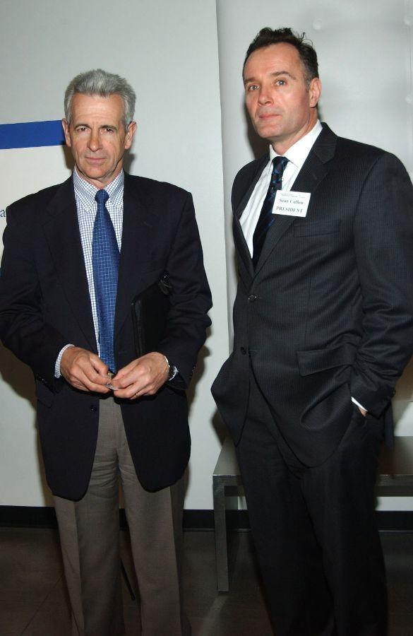 James Naughton and Sean Cullen at the American National Theater Founders Celebration.