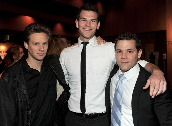 Jacob Pitts, Josh Helman and Joshua Biton at the California premiere of