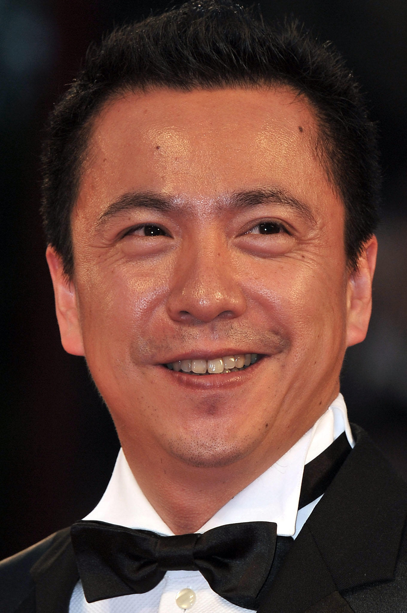 Wang Zhonglei at the premiere of