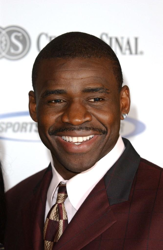 Michael Irvin at the 17th Annual Sports Spectacular.