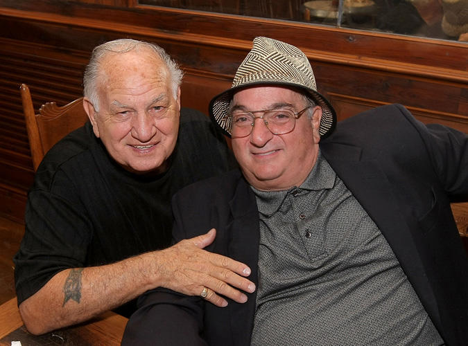 Joe Rigano and John Cha Cha Ciarcia at the book release party for