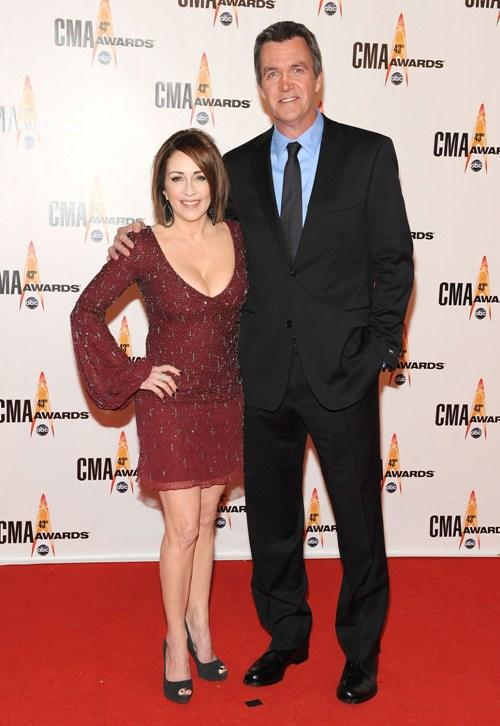 Patricia Heaton and Neil Flynn at the 43rd Annual CMA Awards.