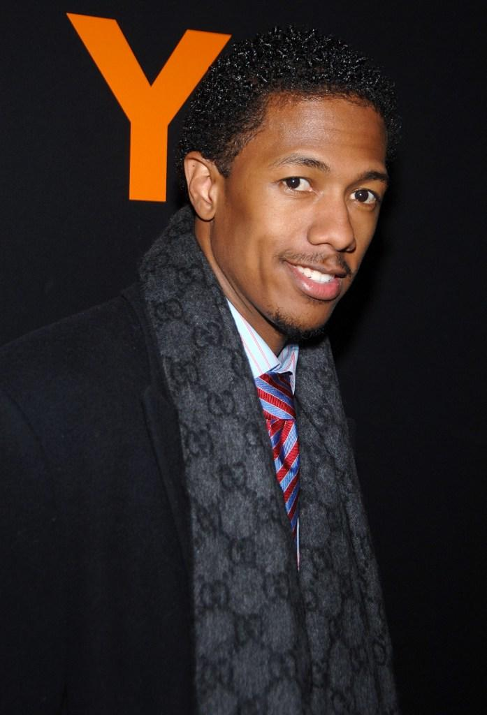 Nick Cannon at the Adidas Y-3 Autumn/Winter 2007 show during the Mercedes-Benz Fashion Week Fall 2007.
