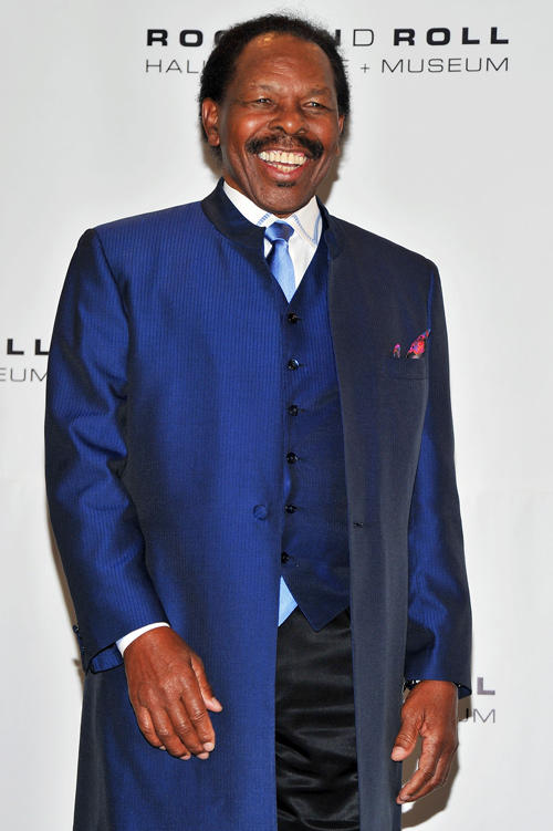 Lloyd Price at the 26th annual Rock and Roll Hall of Fame Induction Ceremony.