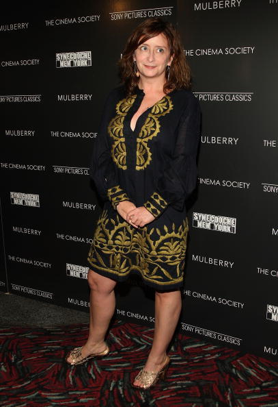 Rachel Dratch at the Cinema Society and Mulberry screening of
