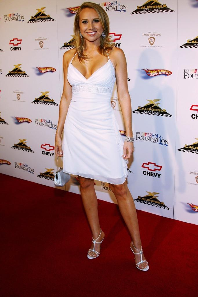 Alana Curry at the California Speedway's Running Wide Open in Hollywood party.