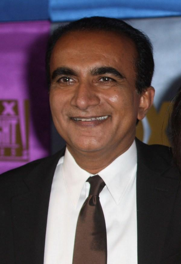 Igbal Theba at the FOX 2010 Golden Globes party.