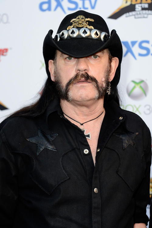 Lemmy Kilmister at the 5th Annual Revolver Golden Gods Award Show in California.
