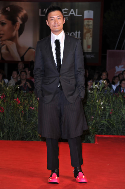 Shawn Yue at the premiere of